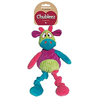 Rosewood Chubleez Chloe Cow Dog Toy by Rosewood