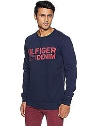 f81becd90 Tommy Hilfiger Men's Sweatshirts Online: Buy Tommy Hilfiger Men's ...