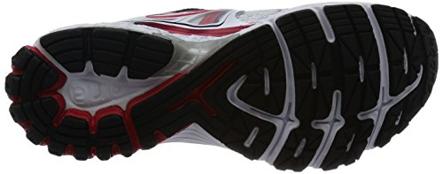 Brooks Ravenna 6 M, Chaussures de Course Homme Multicolore (White/Hr Red/Blk)