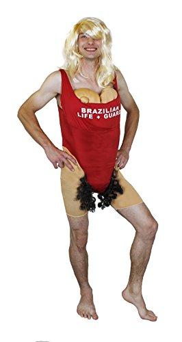 LUSTIGES MÄNNER BRAZILIAN GROßE BRÜSTE KOSTÜME