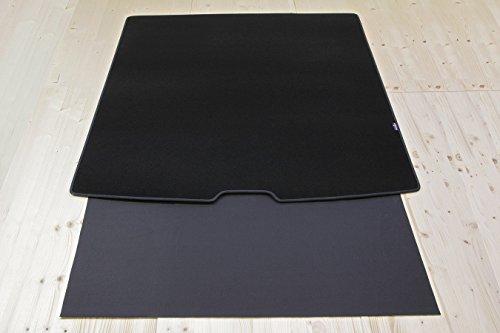 Tuning-Art 2919 Auto Kofferraummatte mit Ladekantenschutz 2-teilig