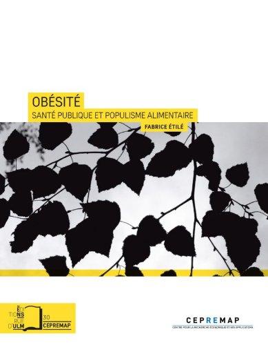Livre gratuits Obésité - Santé publique et populisme alimentaire epub pdf