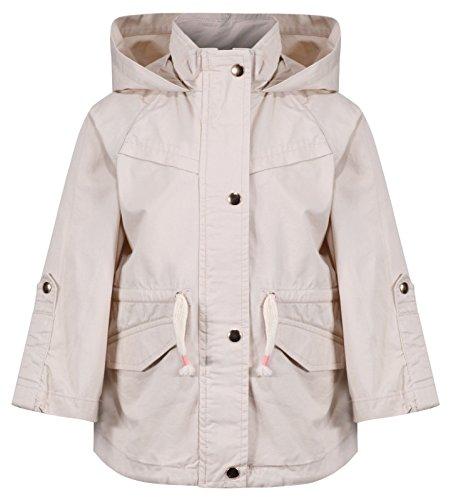 Integriti Ex ZARA's Girls Baby Toddler Cream Jacket Coat Newborn To 4 Years 100% Cotton RRP £26