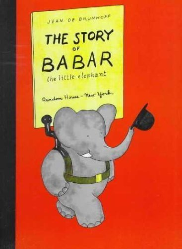 The Story of Babar the Little Elephant by Jean De Brunhoff (1960-08-02)