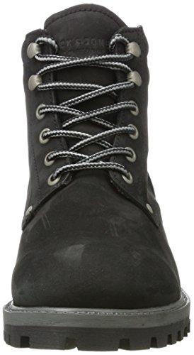 Jack & Jones Jfwstoke Nubuck Boot Black, Bottes Classiques Homme, Noir Noir (Black)