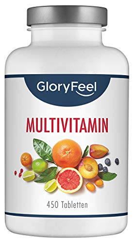 GloryFeel® Multivitamin 450 Tabletten Hochdosiert - Der