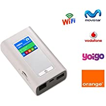 Tianjie 4G WIFI Router Móvil Móvil Hotspot Inalámbrico De Banda Ancha Pocket Mifi desbloquear LTE módem inalámbrico Wifi Extender Repetidor Con Puerto Rj45,Unterstützung der Betreiber Telekom, Vodafone, O2