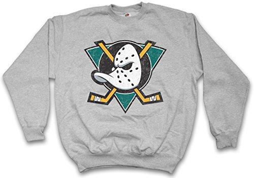 Urban Backwoods Ducks Hockey Sweatshirt Pullover - Größen S - 3XL Hockey Logo Sweatshirt