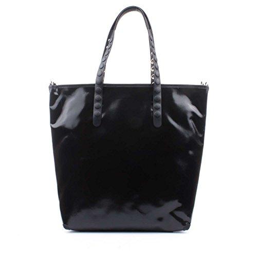 GABS femme sac shopping LUCREZIA-E17 ESSAI P0071 MOSAIC BLANC NOIR Bianco-nero