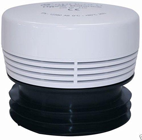 Aeratore per tubi - Valvola di ventilazione per Impianti sanitari/Tubi per fognatura - Hyp Air Balance - DN-70-110mm