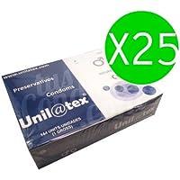 UNILATEX Natürliche Kondome 144UDS X 25UDS preisvergleich bei billige-tabletten.eu