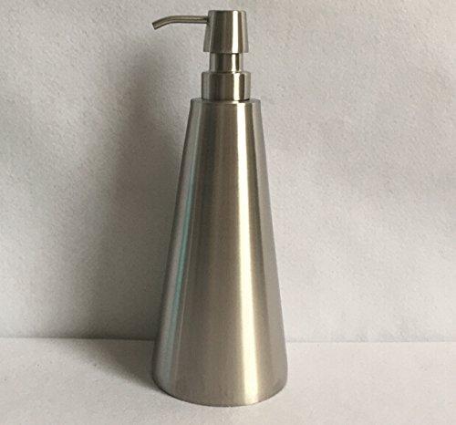 Bene K28-211 Seifenspender Duschgelspender Shampoospender Spülmittelspender, Edelstahl 18/8 (SUS304), Matt (800ml-SP55)