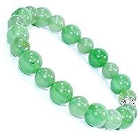 Green Aventurine Bracelet 10MM + 8 MM Birthstone Handmade Healing Power Crystal Beads preisvergleich bei billige-tabletten.eu