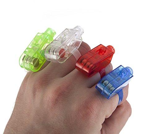 RockJam LED Finger Lights - Pack of 80