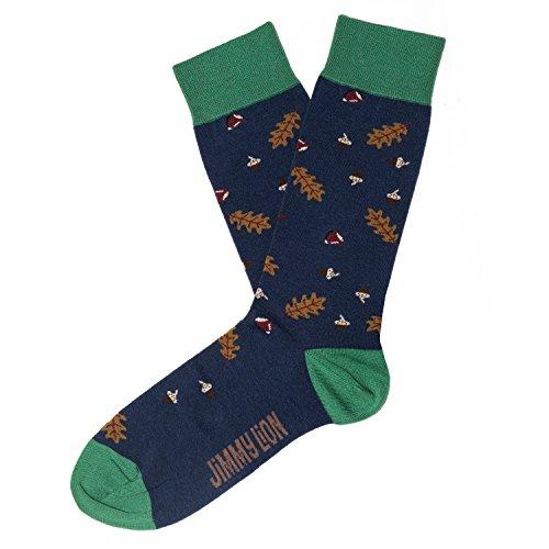Jimmy Lion Herren Socken Nuts, Blau (Dark Blue), Einheitsgröße (Herstellergröße:41-46)
