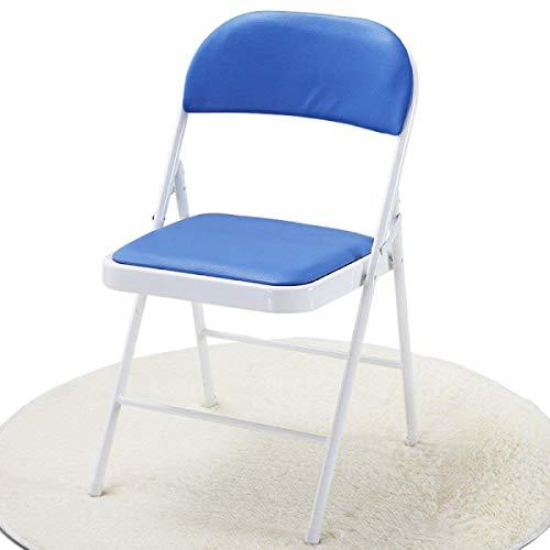 Yisaesa Chaise Pliante à Dossier Solide Chaise d'Ordinateur pour Bureau Camping (coloré : F, Taille : 45 * 40 * 79cm)