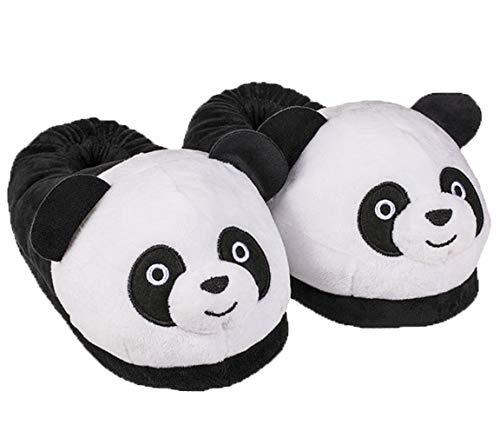 Bada Bing Kuschel Hausschuhe Panda Pandabär Plüsch Bär Pantoffel Kinderschuh Kinder Die Schuhe Fallen Klein Aus Geschenk (Hausschuh Panda 39/40) 45