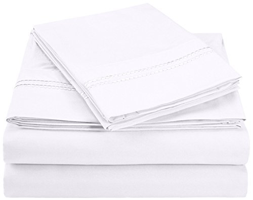 super-soft-light-weight-100-brushed-microfiber-king-wrinkle-resistant-4-piece-sheet-set-white-with-2