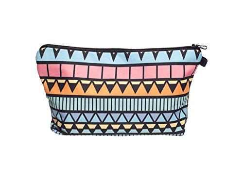 Beauty Case, borsa da viaggio, borsetta da toilette sacco sacchetto bagno per cosmetici trucco make up motivi diversi, Kosmetiktasche KT-002-050:KT-006 modello multicolore