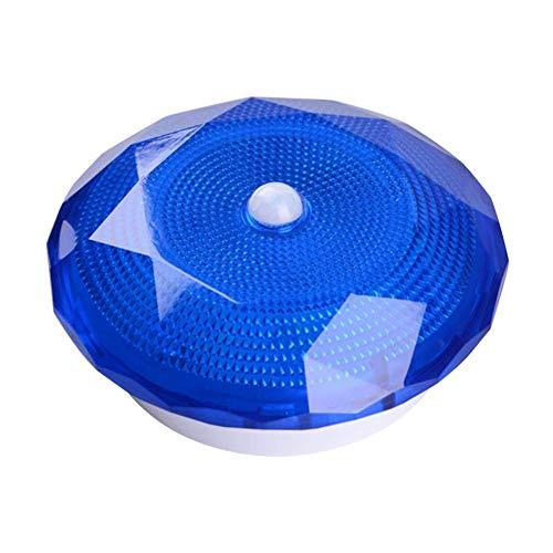 Dfttg Newest 1 Pcs Motion Sensor Light LED Night Light Diamond Shaped for Hallway Cabinet Closet Stairs (Blau)