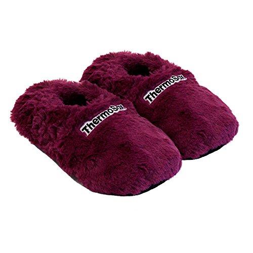 Thermo Sox Pantofole Infradito Pantofole Granaio Scarpe Riscaldate Forno A Microonde Supersoft Blackberry