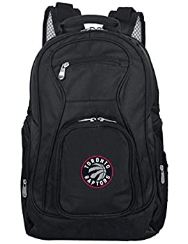 "Mojo Unisex Nba Toronto Raptors Voyager Laptop Backpack Inches, Black, 19"" 0"