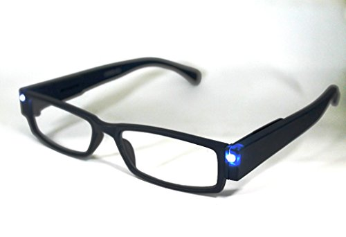 Gafas con Luz Led Lupoos montura color azul
