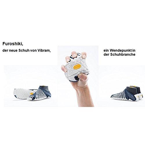 Vibram FiveFingers Furoshiki ORIGINAL - Neuartiger Unisex Wickelschuh / Barfußschuh - Alle Farben Black
