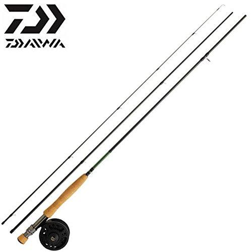 Ensemble de pêche à la mouche 01 Daiwa 905 3 AF + DJ 56