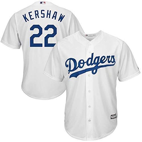 CHhehee personalisierte Baseball Jersey Player Placket Shirt Name und Nummer für Männer/Frauen/Jugendliche La Dodgers Baseball