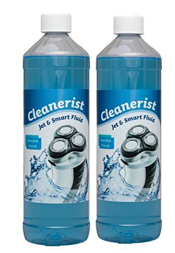 Cleanerist Jet & Smart Fluid Reinigungsflüssigkeit passend für Philips Rasierer geeignet für HQ203/50 und HQ 200/50-2x1 Liter
