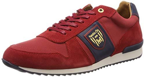 Pantofola d'Oro Umito NB Uomo Low Scarpe da Ginnastica Basse Rosso (Racing Red .90J) 44 EU