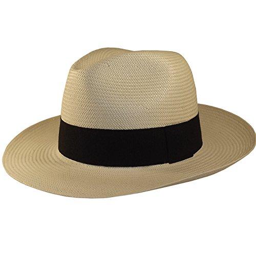 Chapeau-tendance - Veritable Chapeau Panama High - 59 - Homme