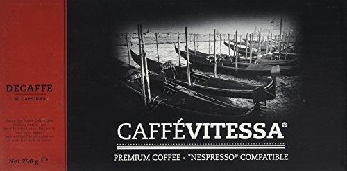 Caffe Vitessa Nespresso Compatible Decaffeinated Coffee Capsules (Pack 50 Capsules) 41zlqpgyPqL