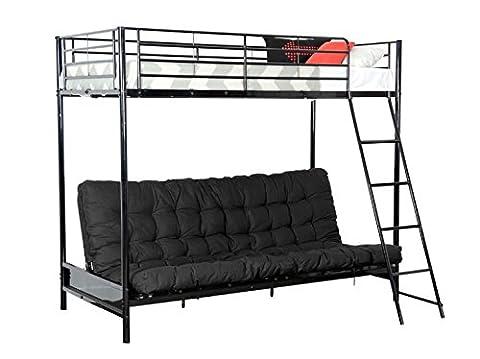 COREME lit mezzanine avec clic clac