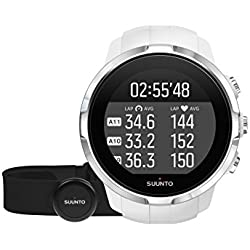 Suunto Spartan Sport (HR) - SS022650000 - Reloj GPS para Atletas Multideporte + Cinturón Frecuencia Cardiaca - Pantalla táctil de Color - Blanco - Talla única