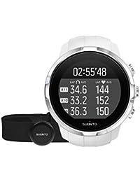 Suunto mit Herzfreqenzmesser Multisport-Gps-Uhr, Weiß, One Size