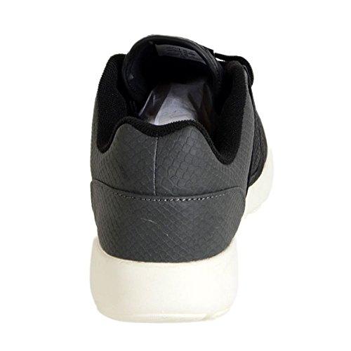 Basket Asfvlt Super Premium Noir / Gris Fishskin Noir