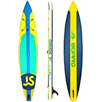 Jsqianchen Race Hinchable Competitivo Stand Up Paddle Board Sup Tabla de Surf (Color : Yellow