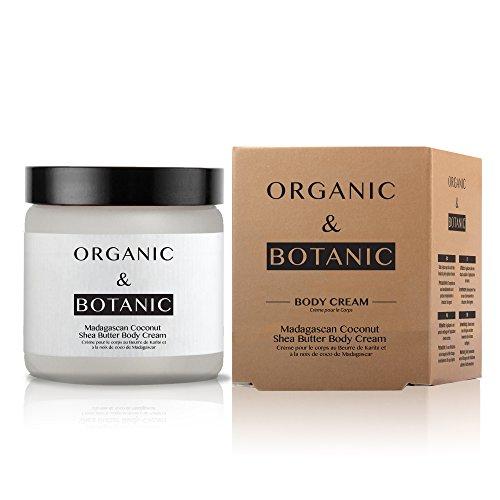 Organic & Botanic Madagascan Coconut Shea Butter Body Cream, 80 Gram