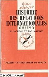 Histoire des relations internationales : 1815-1987