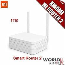 Router inalámbrico inteligente KTC Computer Technology original Xiaomi Mi WiFi 1 TB 2 de doble banda de 2,4 GHz / 5 GHz máximo apoyo 1167Mbps 802.11 AC