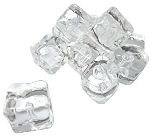 Sefama International 105382 Boîte de 12 Glaçons Factices en Acrylique Transparent