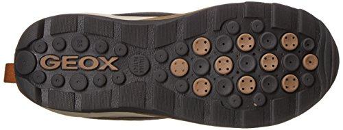 Geox J Orizont Abx D, Bottes de Neige Mixte Adulte Braun (COFFEE/BLACKC6076)