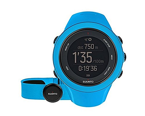 Suunto Ambit3 Sport GPS Heart Rate Monitor Blue, One Size image