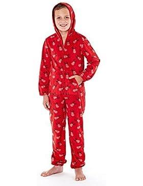 Pijama impreso de Selena Girl, de suave forro polar con cremallera