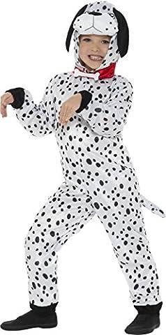 Dalmatiner Kinder Fancy Kleid Hund Welpe Buch Tag Woche Jungen Mädchen Kinder Kostüm (klein) (Kleiner Hund Kostüme)