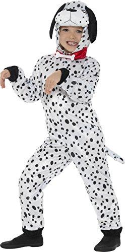 Dalmatiner Kinder Fancy Kleid Hund Welpe Buch Tag Woche Jungen Mädchen Kinder Kostüm (klein) (Jungen Hund Kostüme)