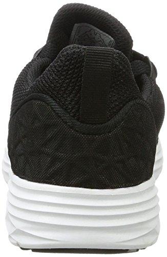 Kappa Paras, Sneakers Basses Mixte Adulte Noir (1110 Black/white)