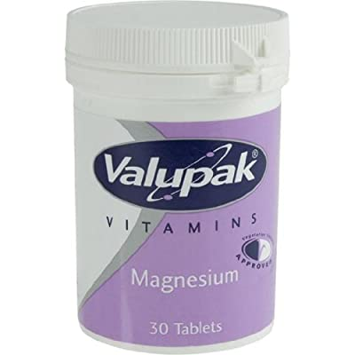 Valupack 187.5mg Magnesium Tablets - 30 Tablets by BR Pharmaceuticals